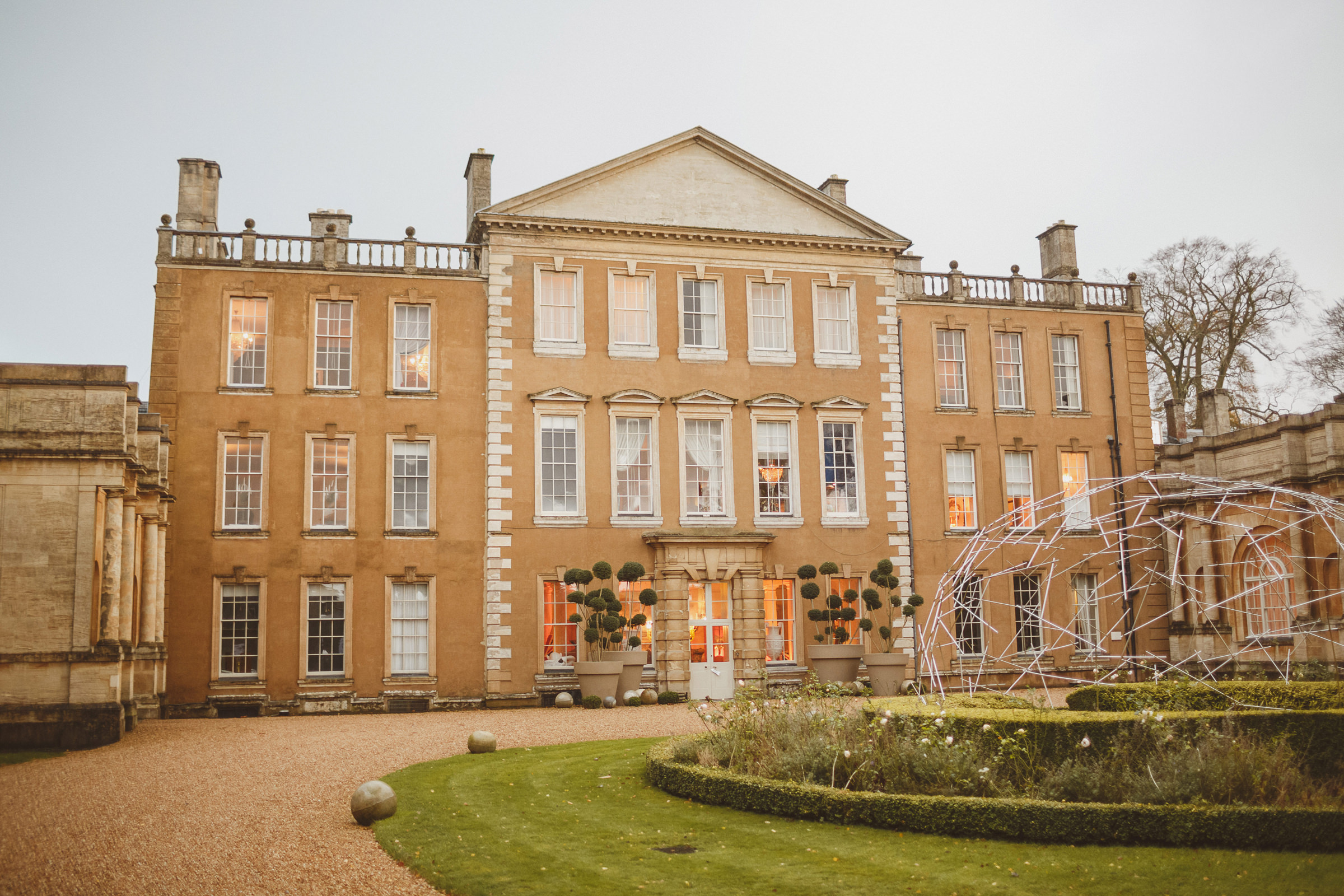 Front of Aynhoe Park UK - photo by Ed Peers Photography