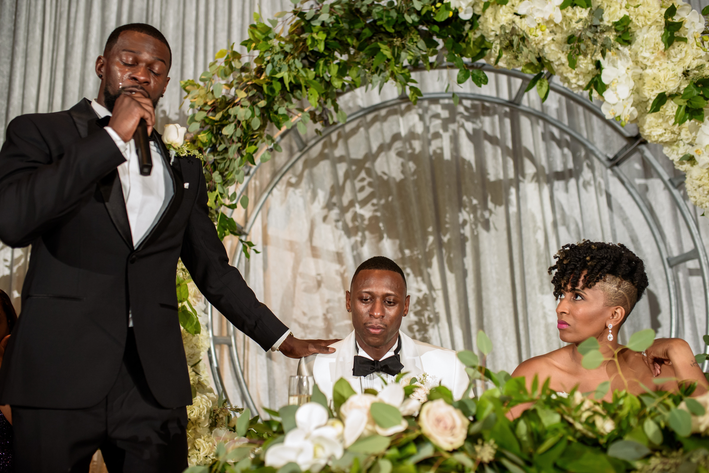 prayer for the couple - photo by Ashleigh Bing Photography
