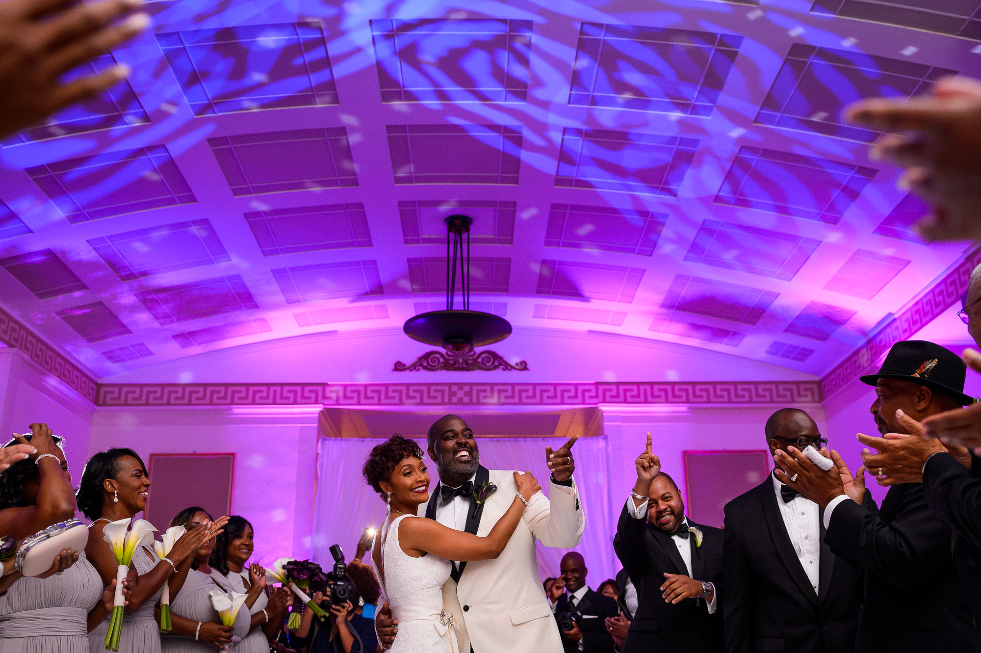 First dance at House of the Temple DC - photo by Christopher Jason Studios