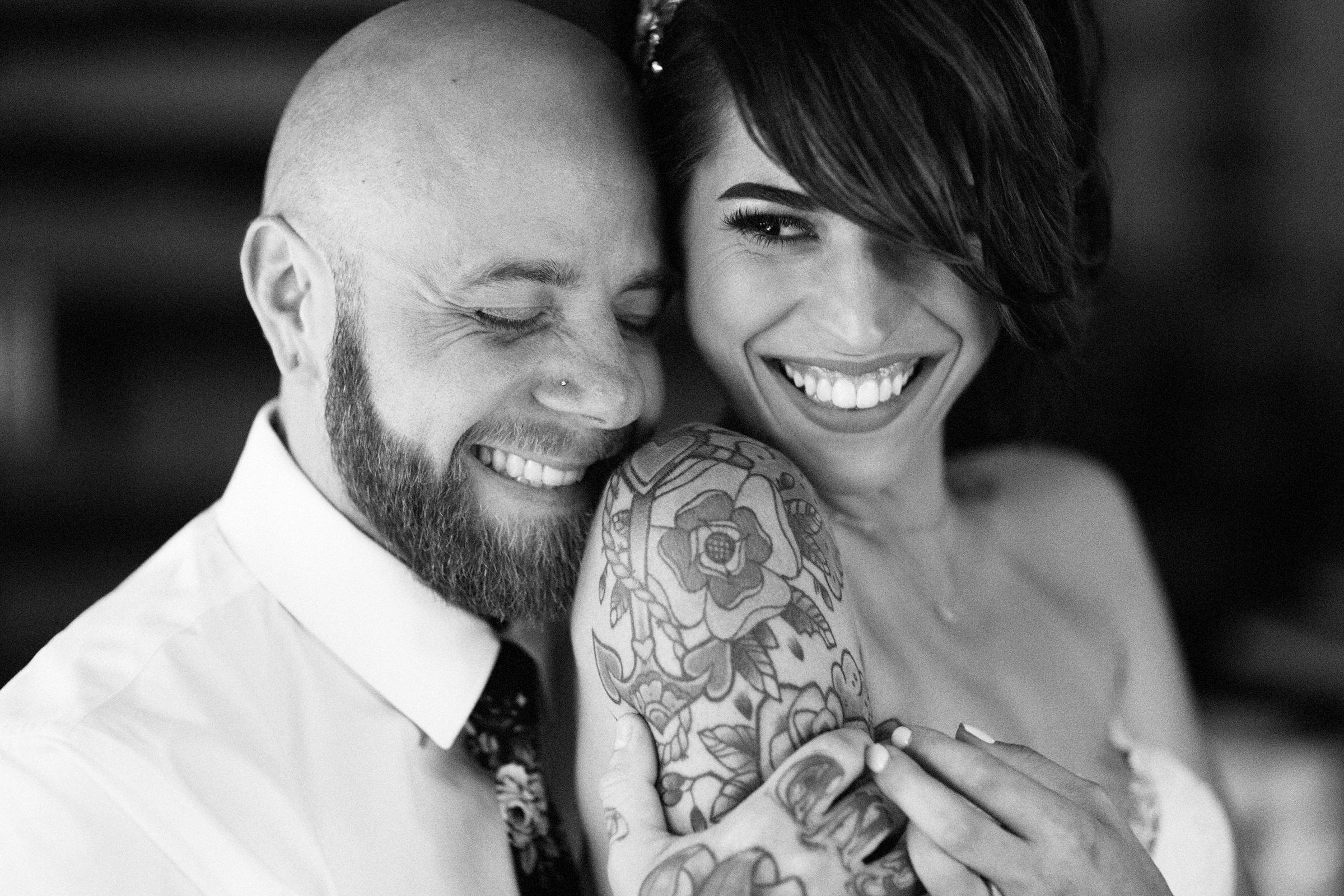 Radiant couple portrait- photo by Joshua Behan Photography LLC