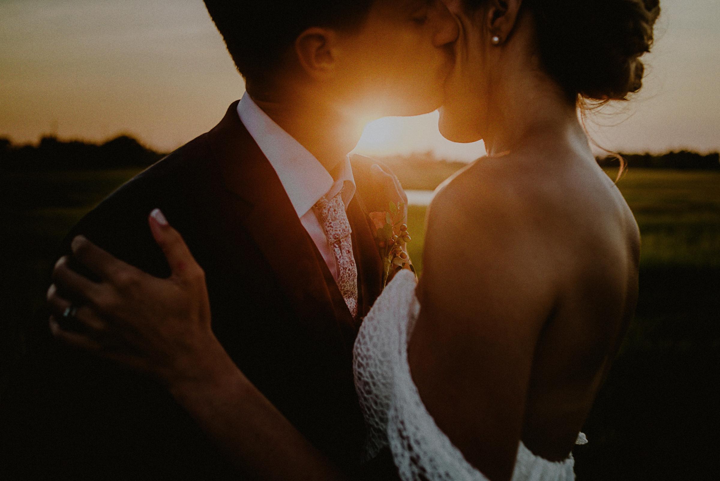 Sunset kiss - photo by Carolina Rivera Photography
