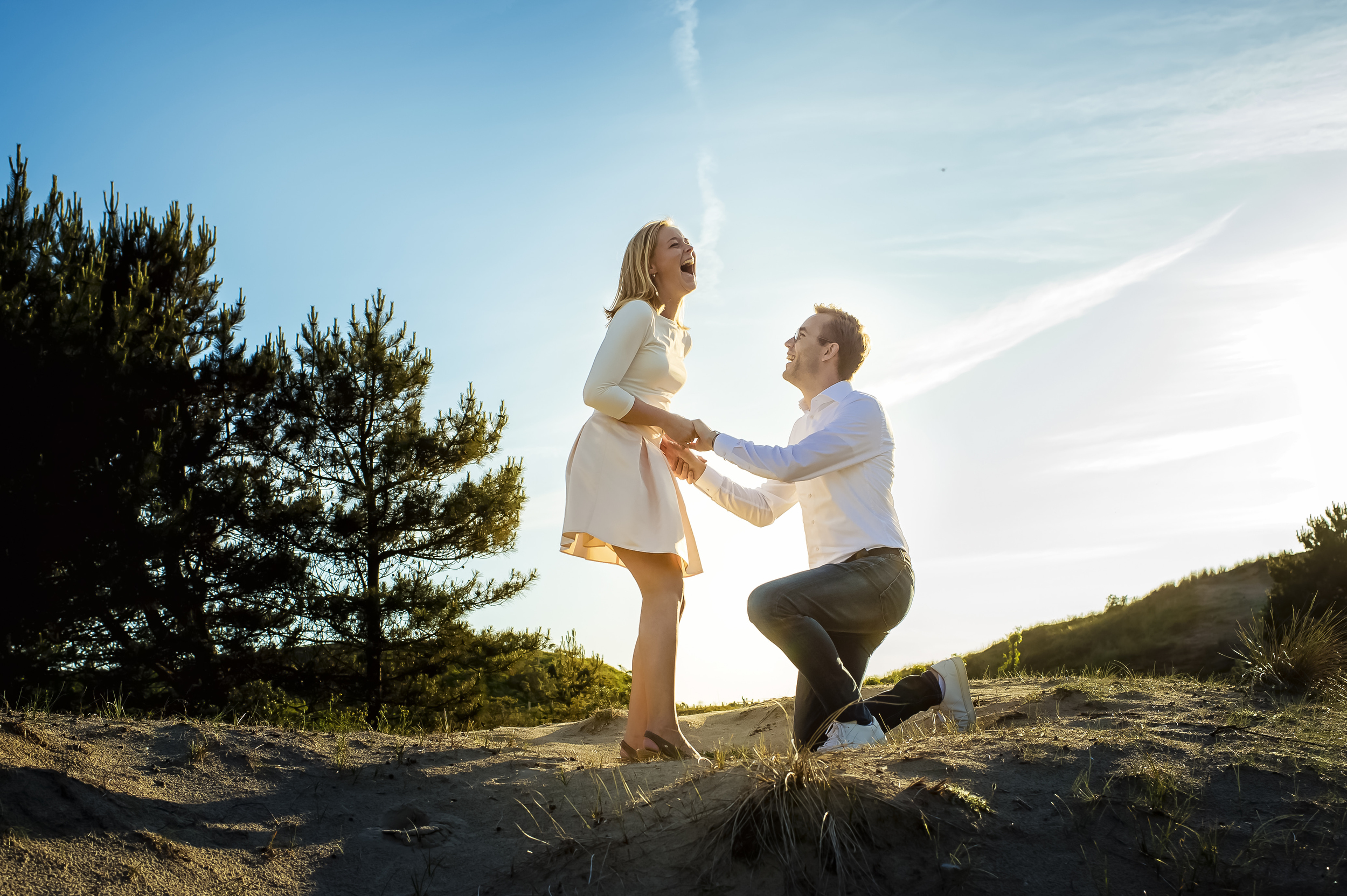 Outdoor proposal - photo by Studio Damon Photograpy