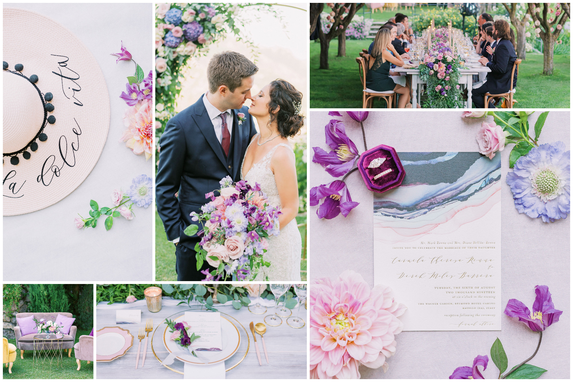 colorful wedding style - best of the decade photo by Elias Kordelakos - Italy