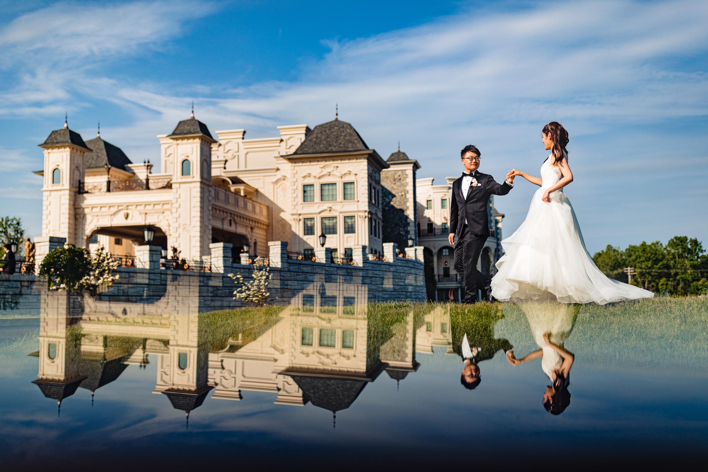 Wedding at Legacy Castle in Pompton Plains, NJ- photo by Yun Li Photography
