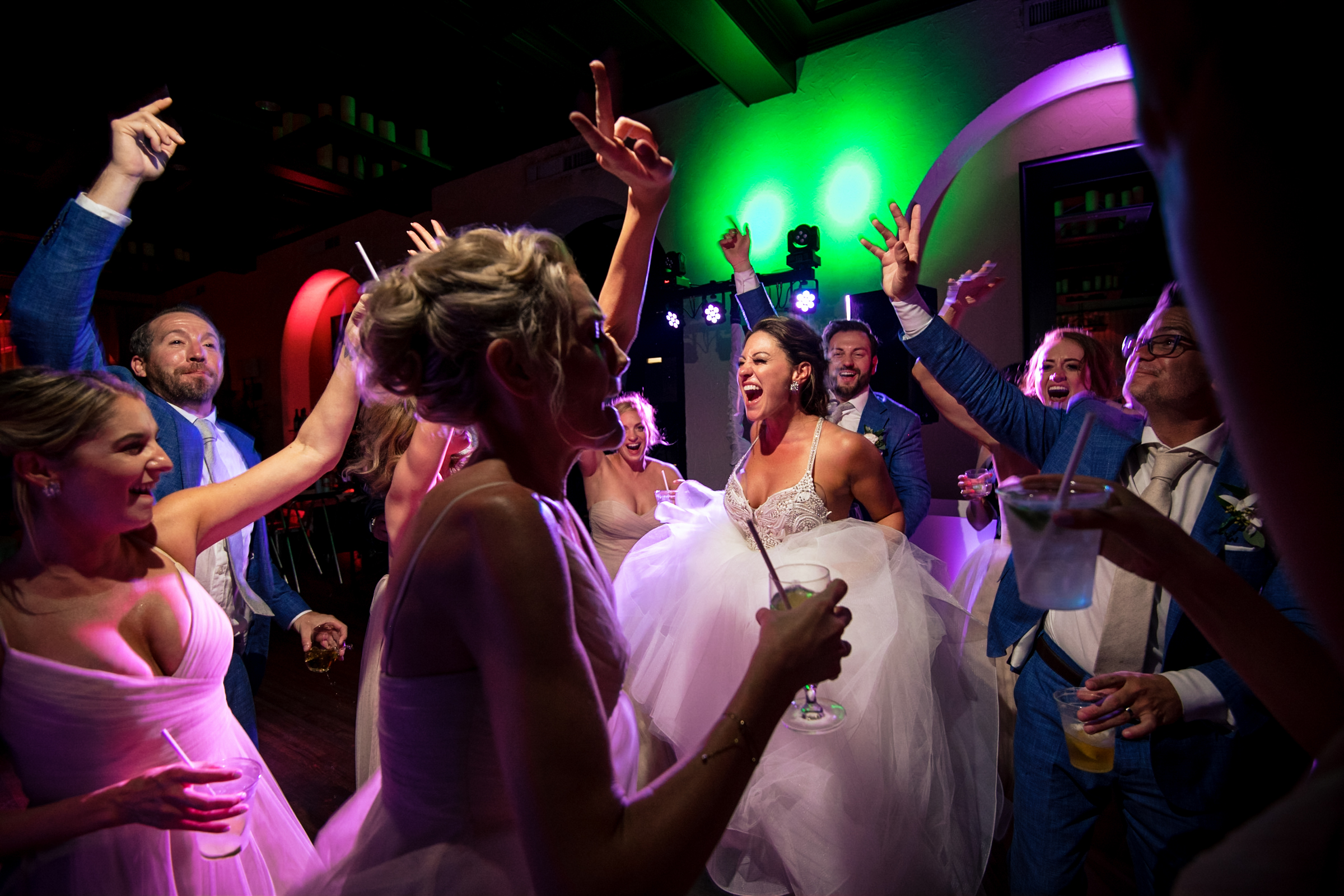 Dance party - photo by Michael Freas Photography