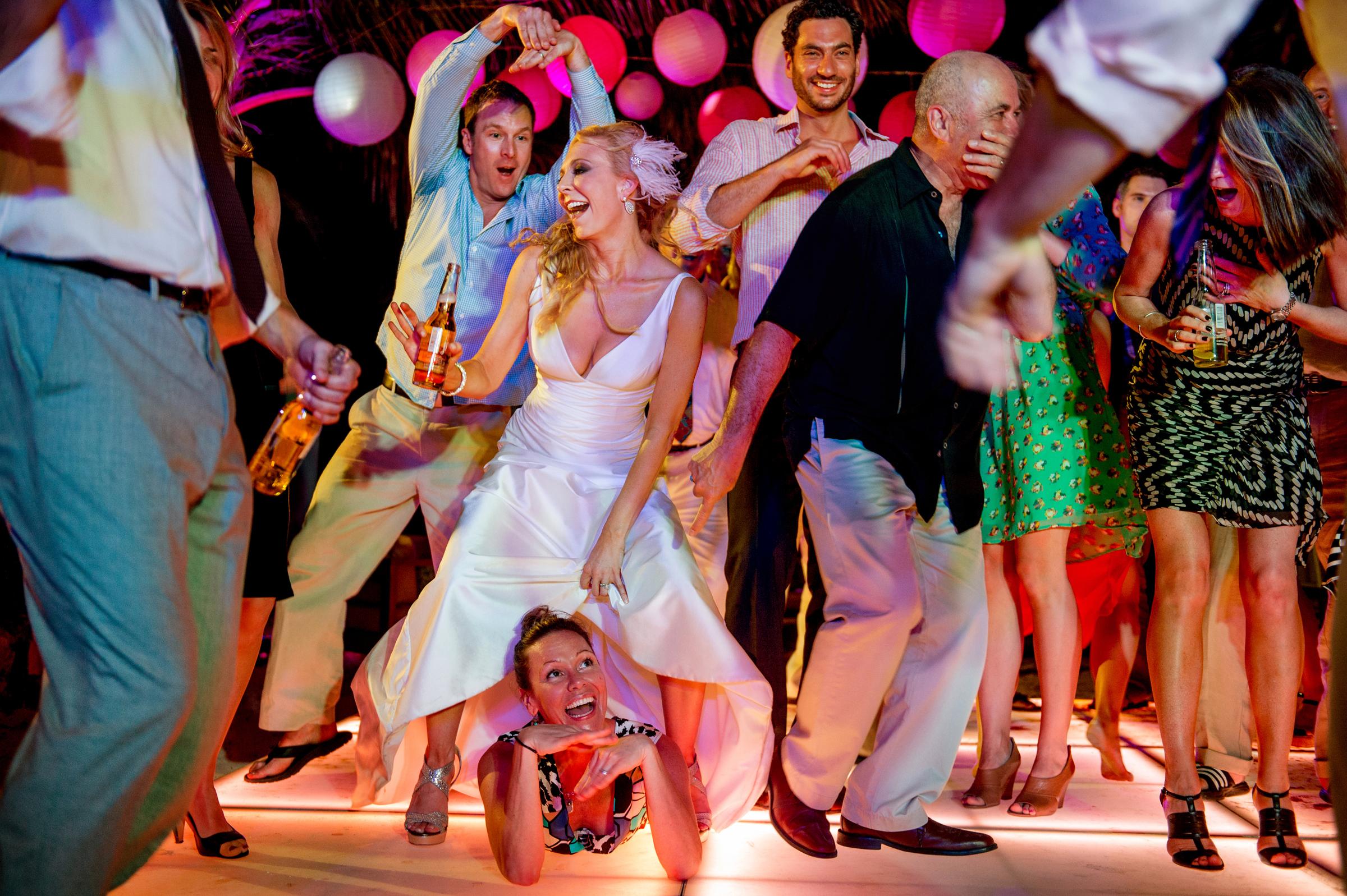 Dance party - photo by Morgan Lynn Photography