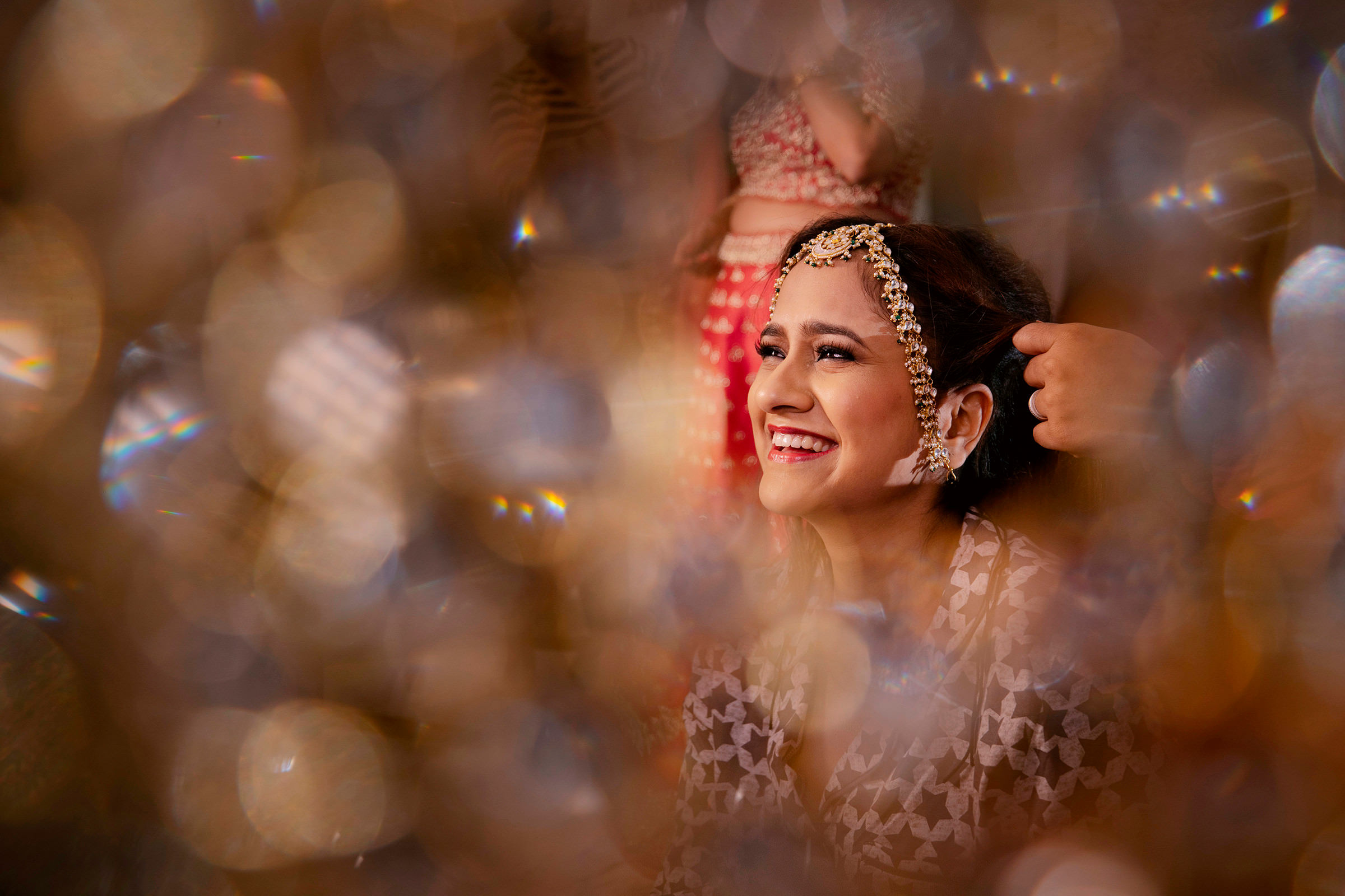 Smiling Bride - photo by Shutterink Photography