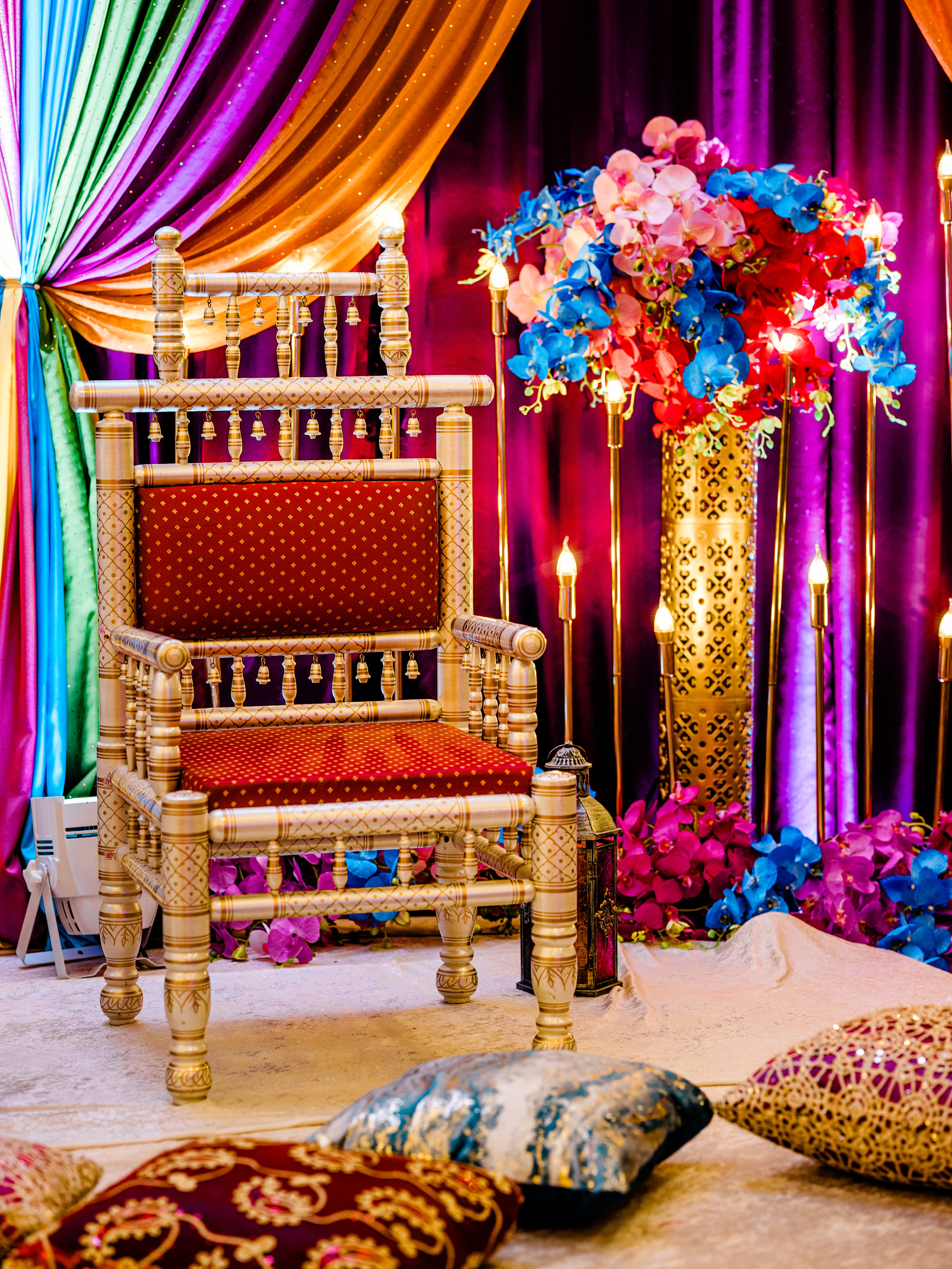 ceremonial chair - photo by Alante Photography