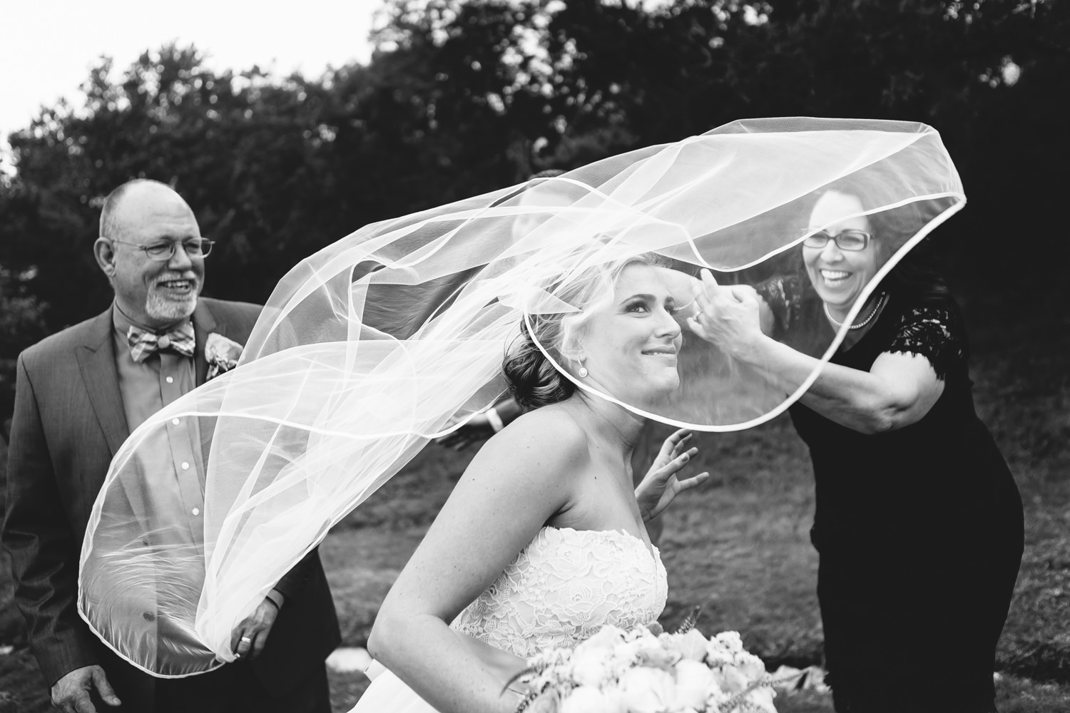 Veil in the wind - photo by AL Gawlik Photography