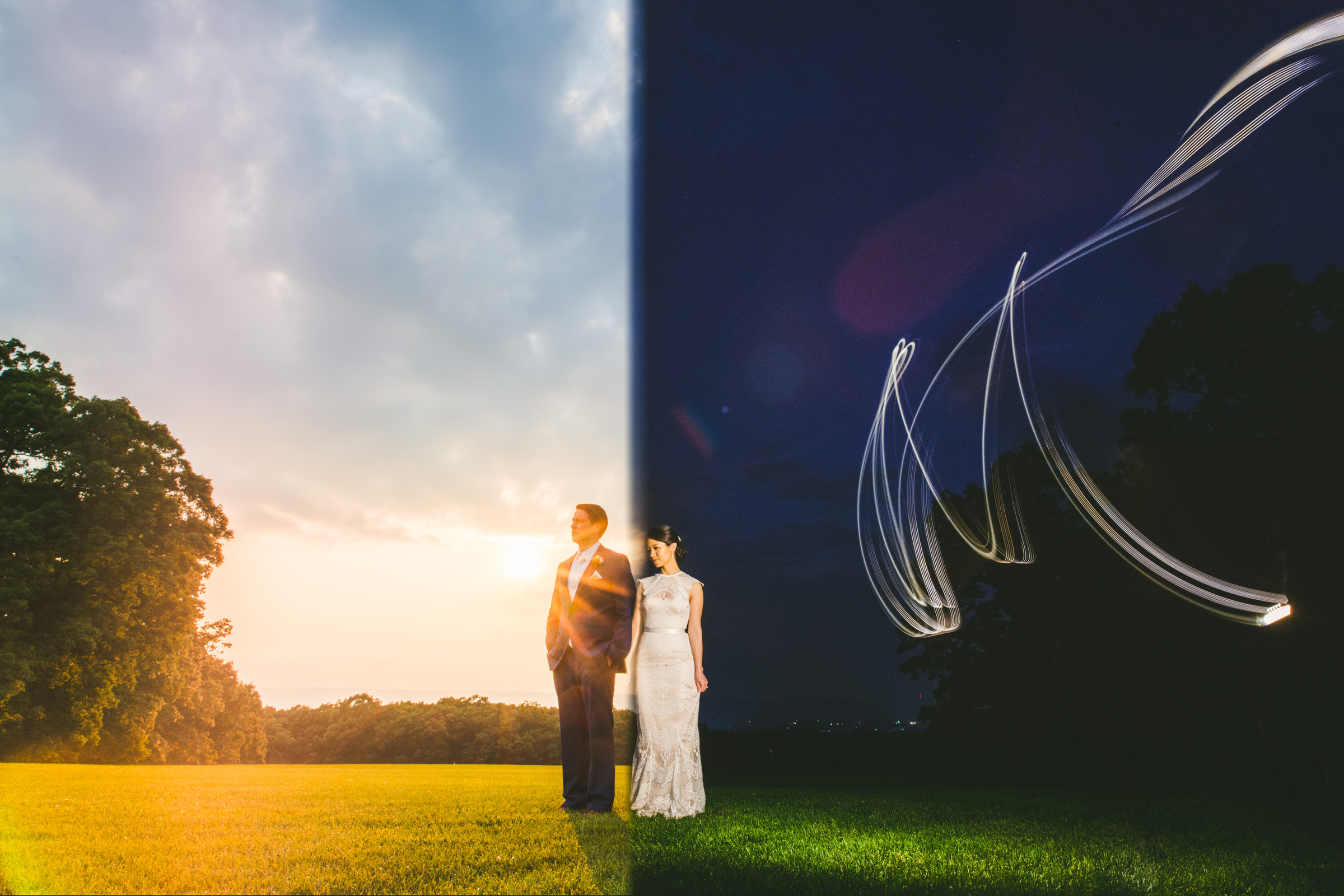 50 Best Wedding Photo Concepts of the Decade - photo by Sam Hurd Photography