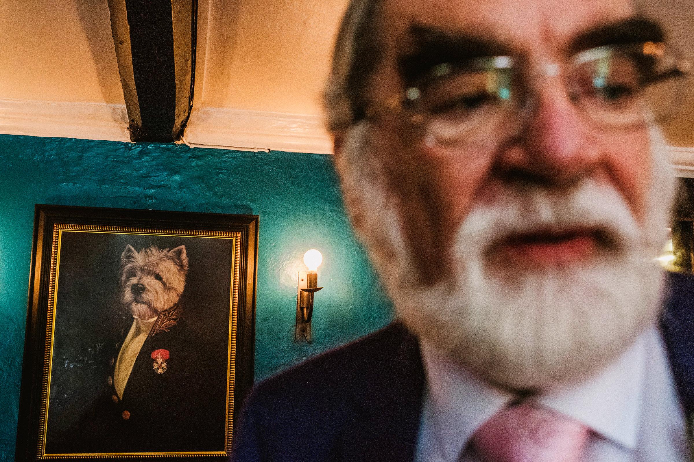 Hilarious portrait juxtaposition - photo by York Place Studios