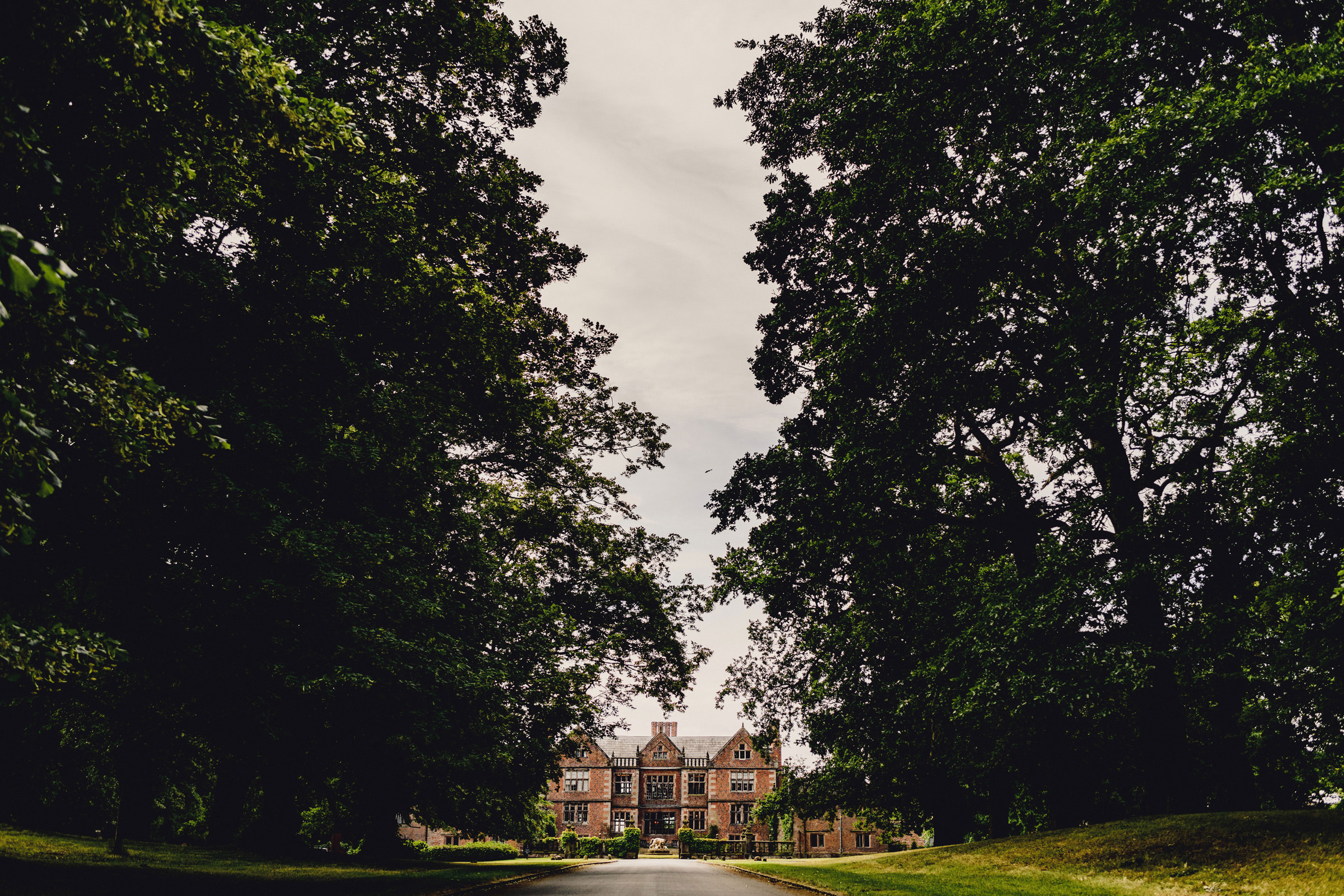 Entrance to Dorfold Hall - photo by MIKI Studios