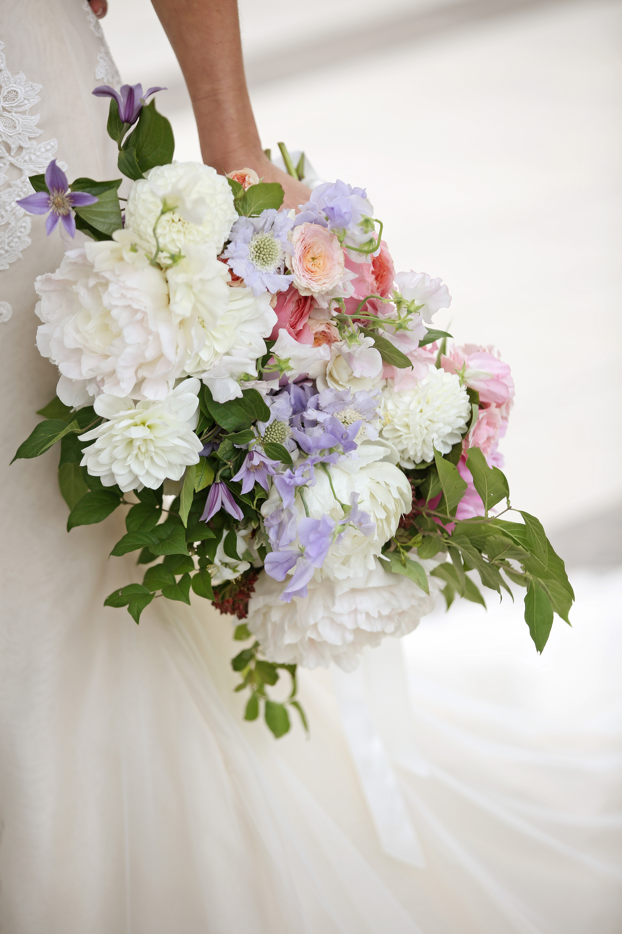 Detail of bridal bouquet - photo by Kenny Kim Photography