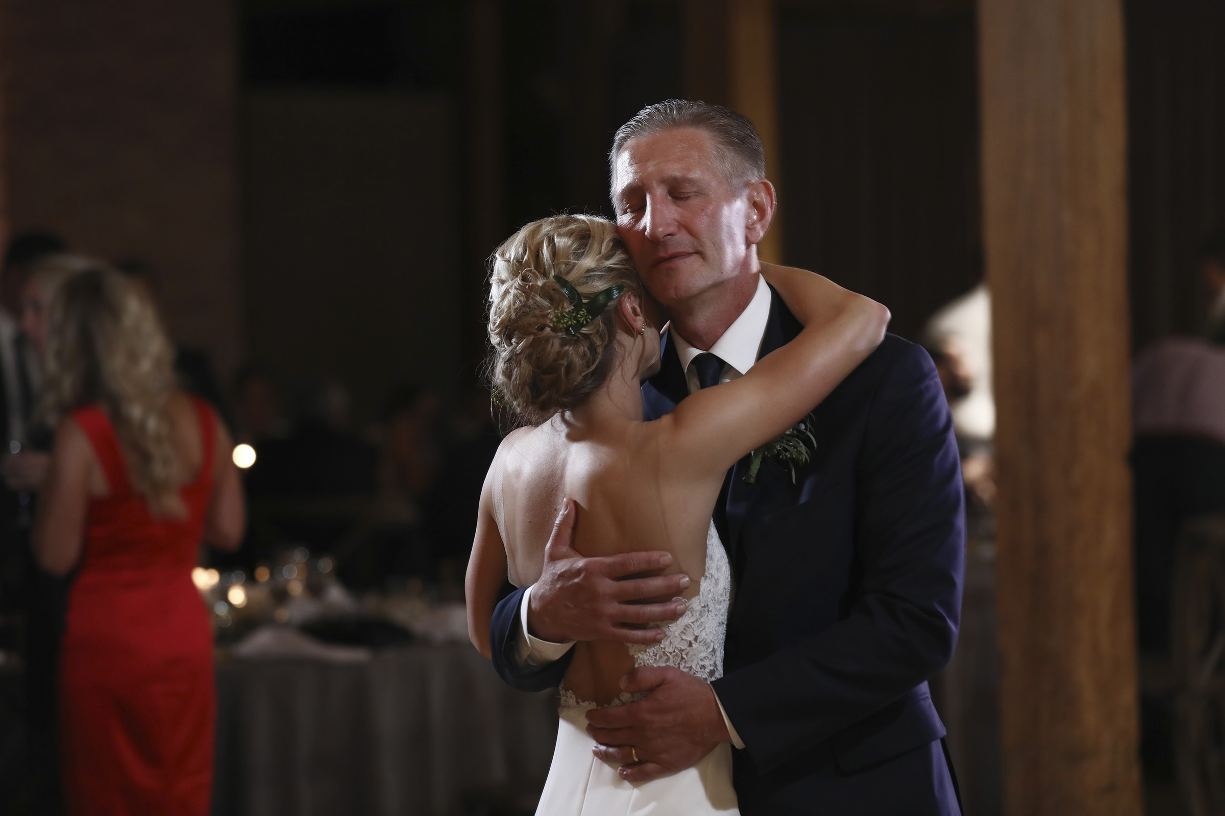 Father and daughter dance - photo by Kenny Kim Photography