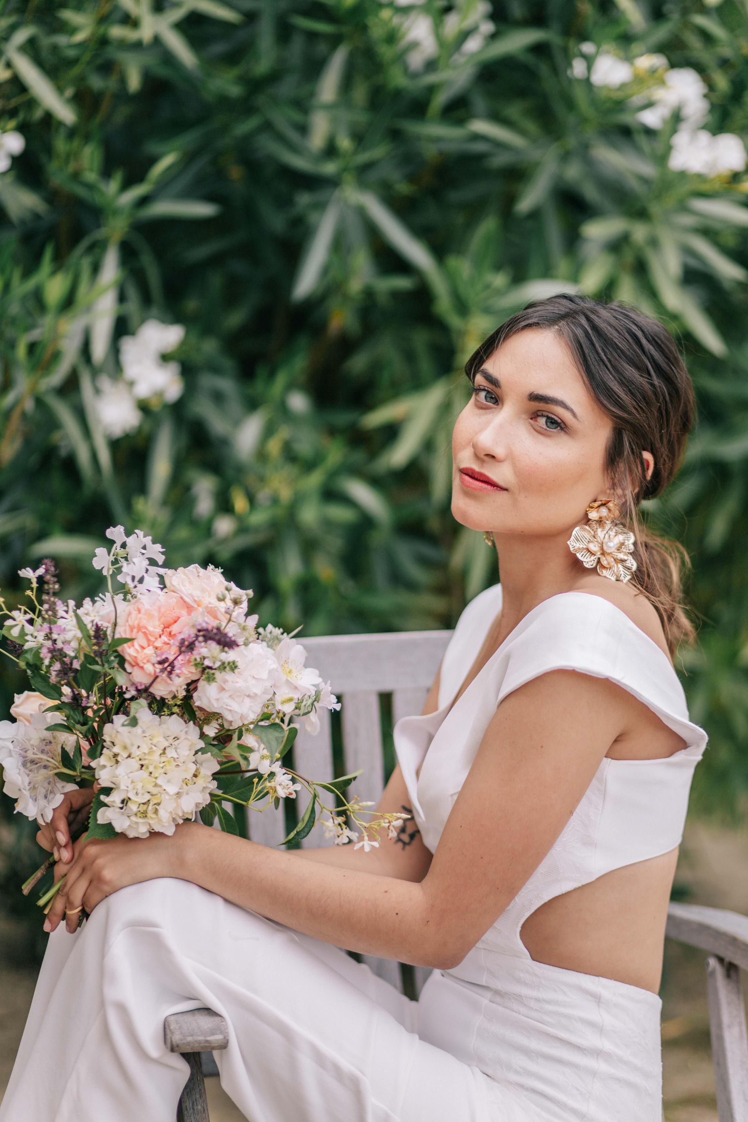 bridal portrait- photo by Amandine Ropars, france