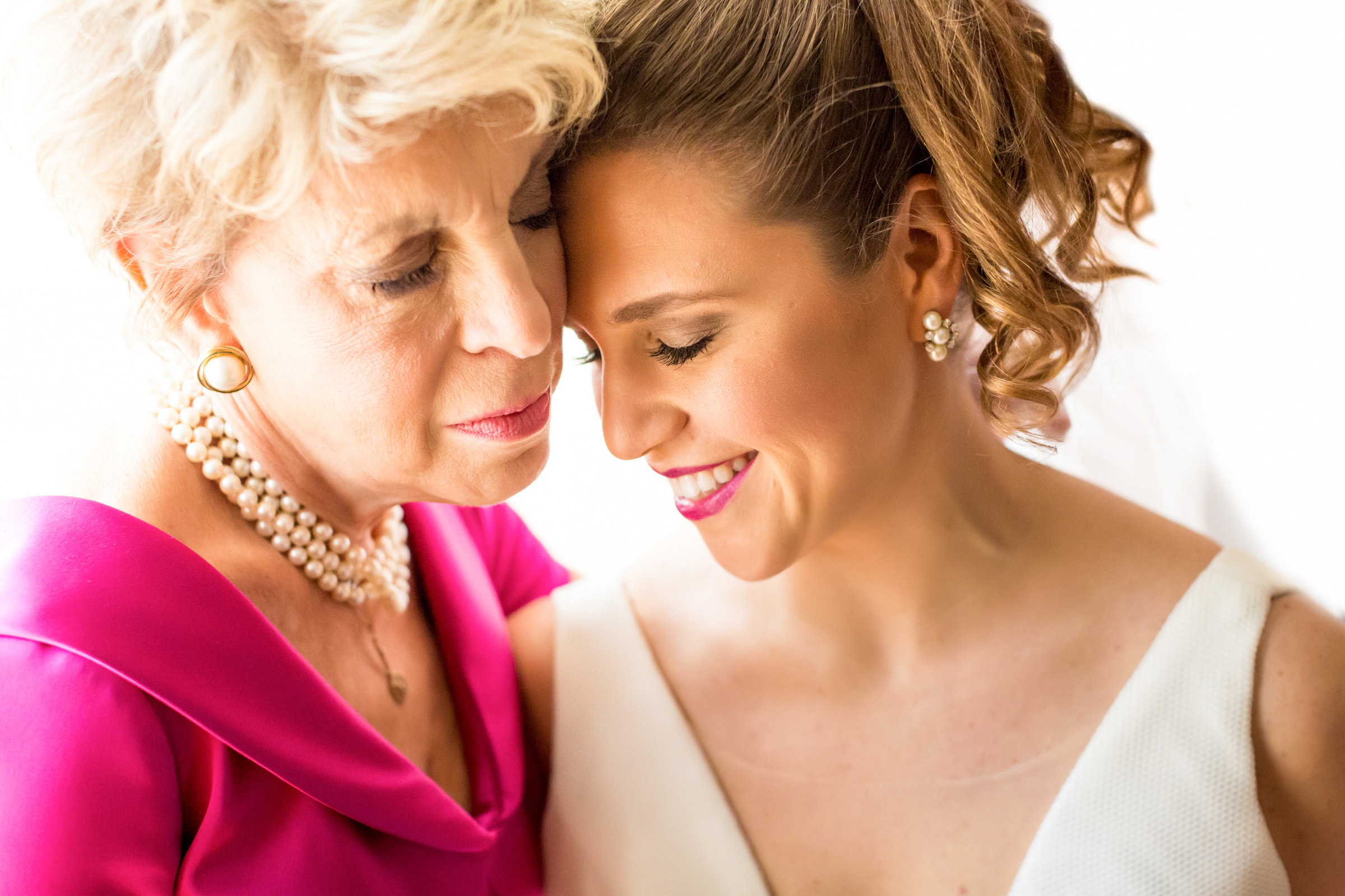 Mother and bride portrait - photo by Procopio Photography