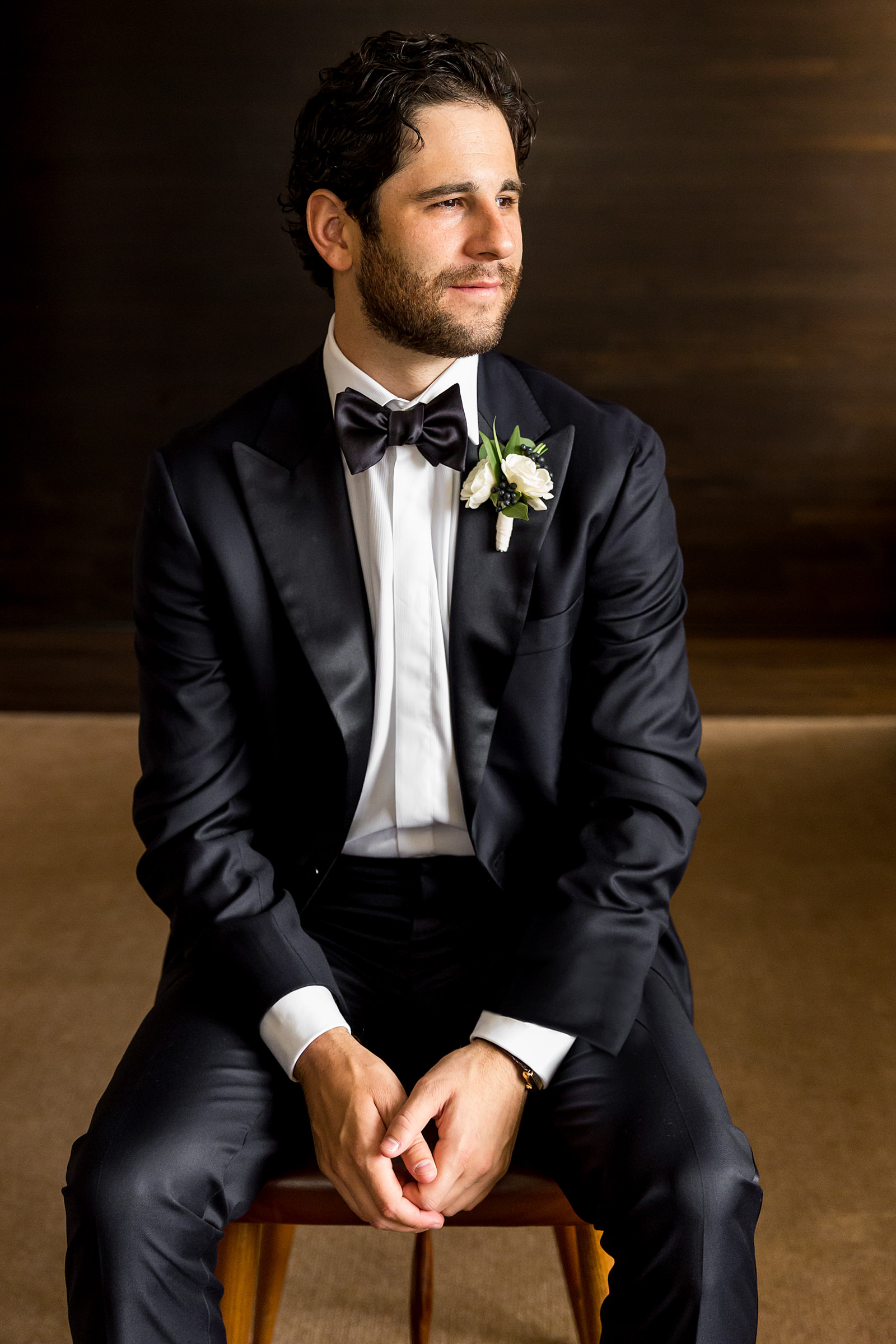 Classic groom portrait - photo by Procopio Photography