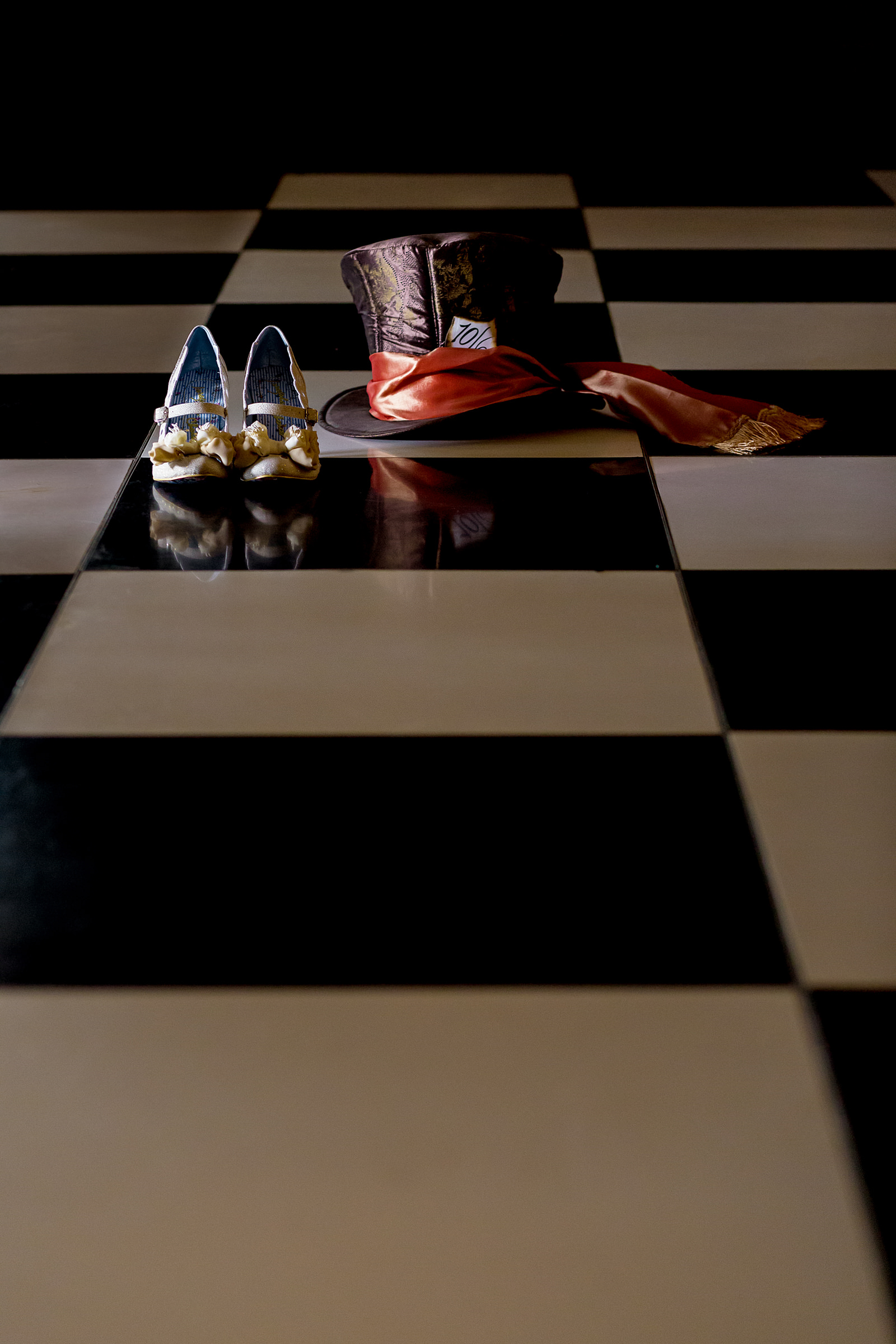 Top hat and shoes - photo by Procopio Photography