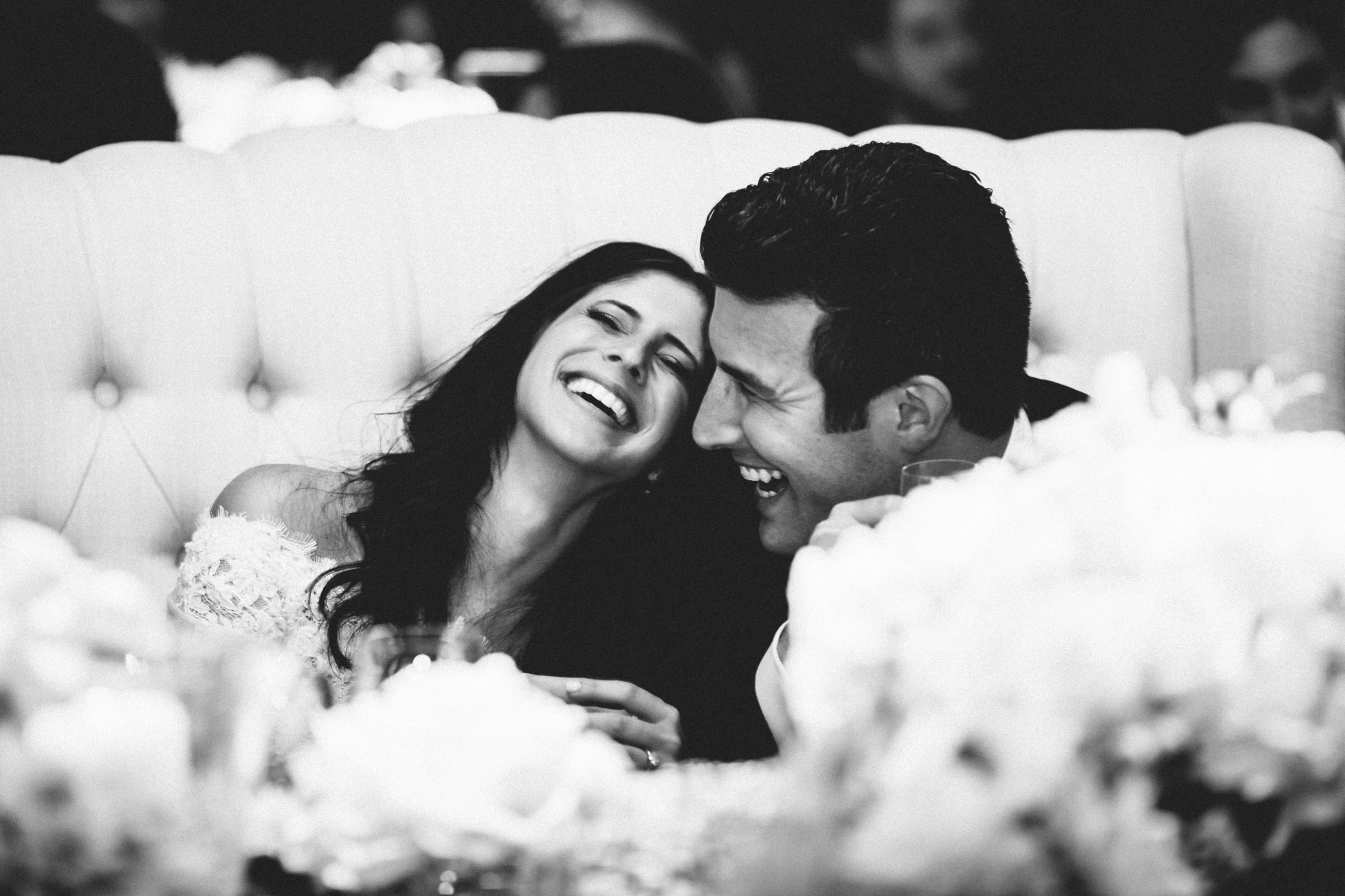 Happy couple moment- photo by Amy and Stuart Photography