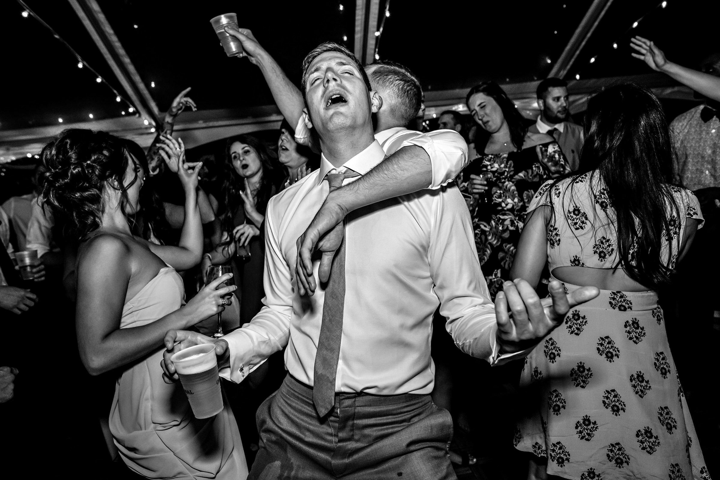 Crazy dance floor photo by Moore Photography