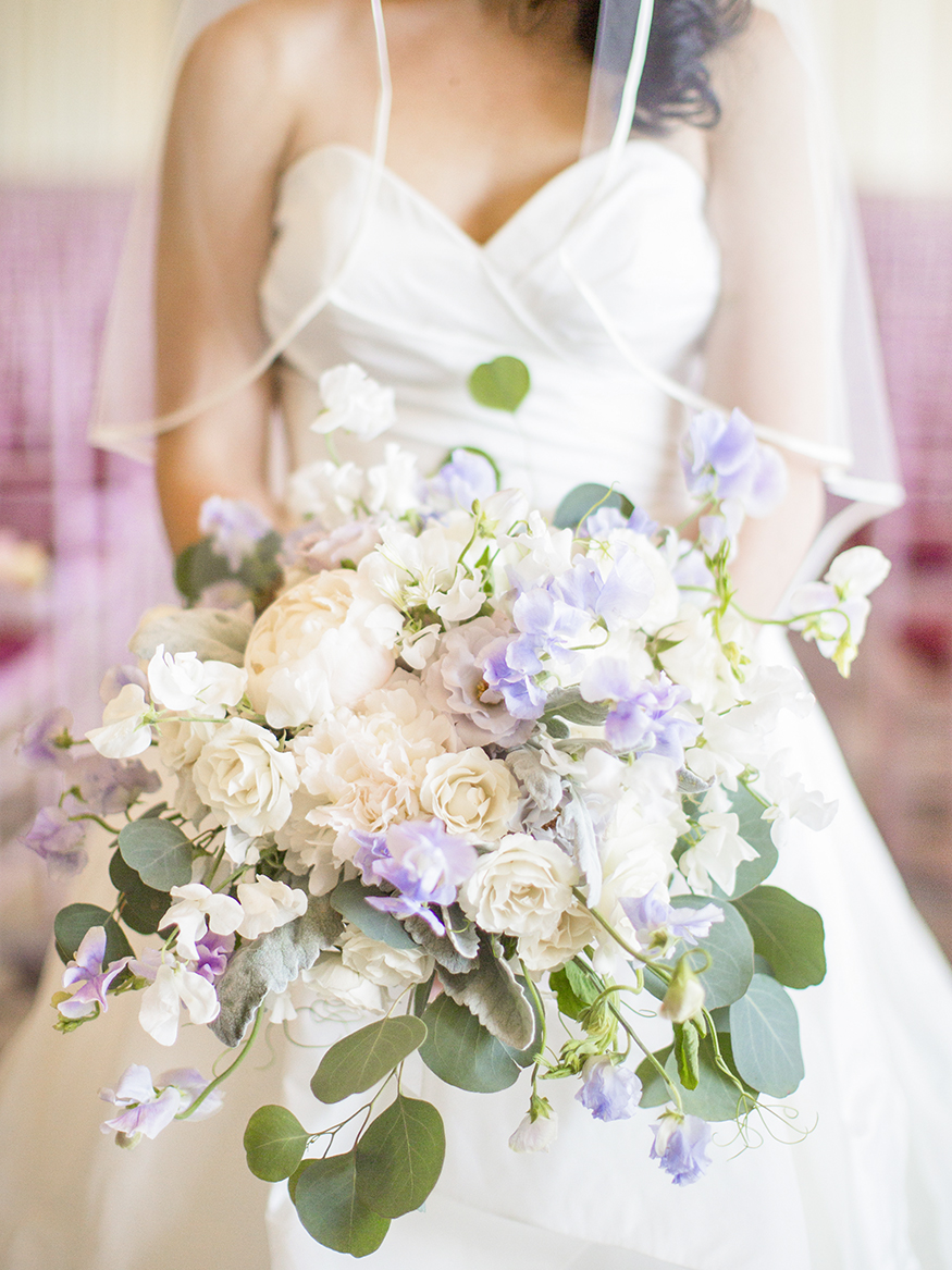 White rose and purple orchid bouquet - photo by Anna Schmidt Photography-dc