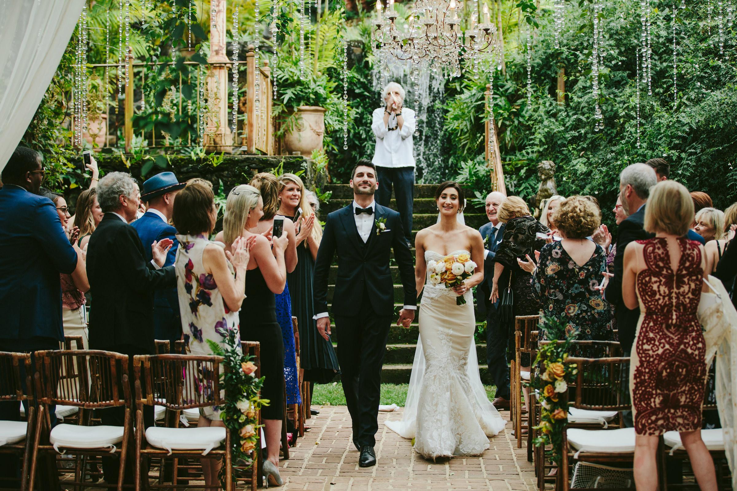 Haiku Mill wedding ceremony - photo by Melia Lucida