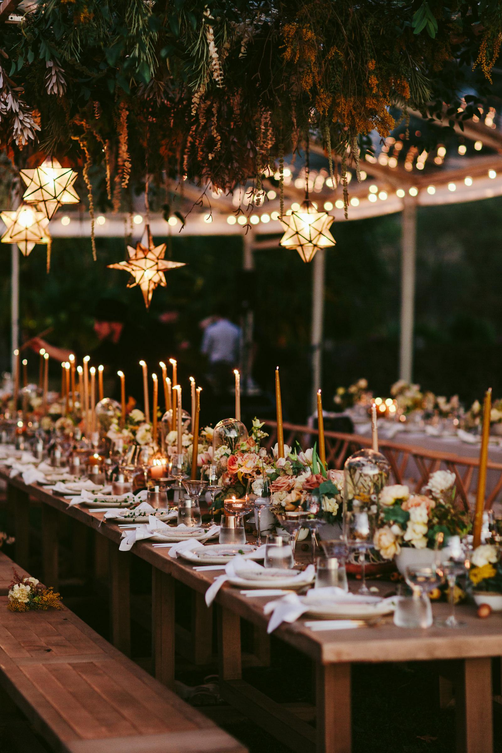 Hotel Wailea maui reception table - photo by Melia Lucida