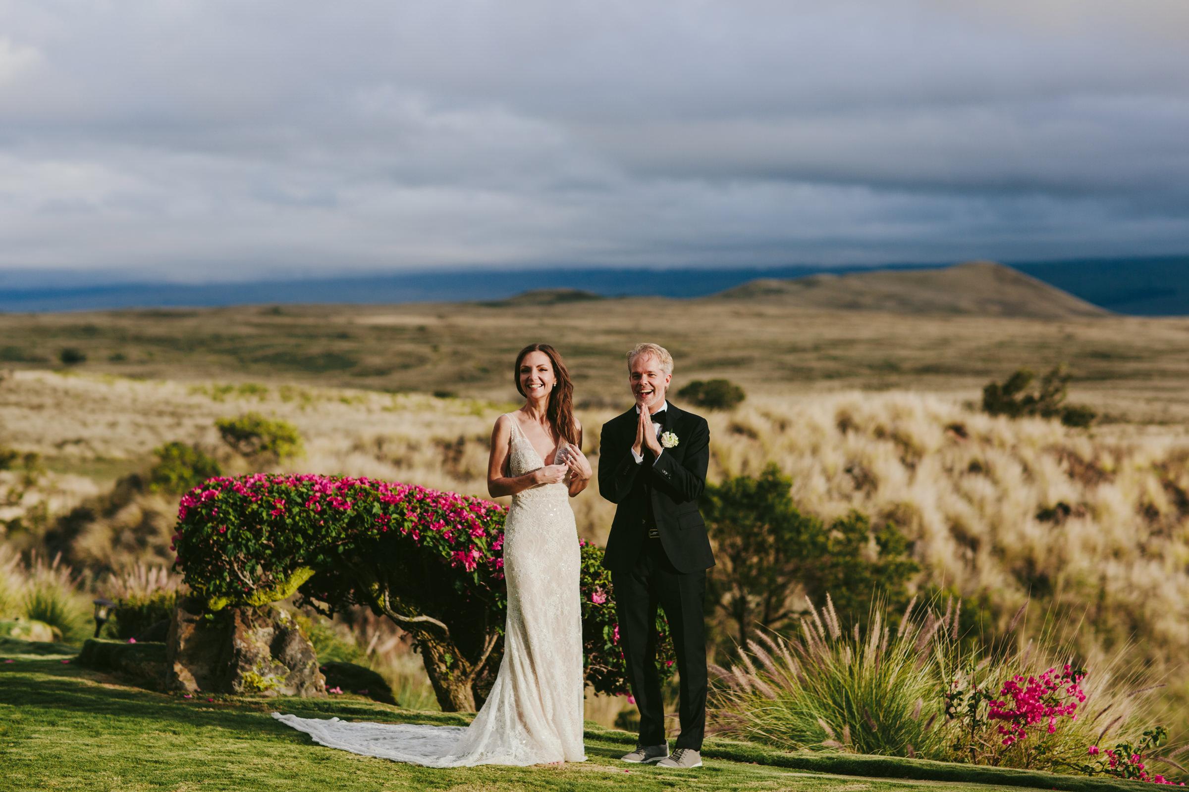 Waipio valley maui couple near beach - photo by Melia Lucida