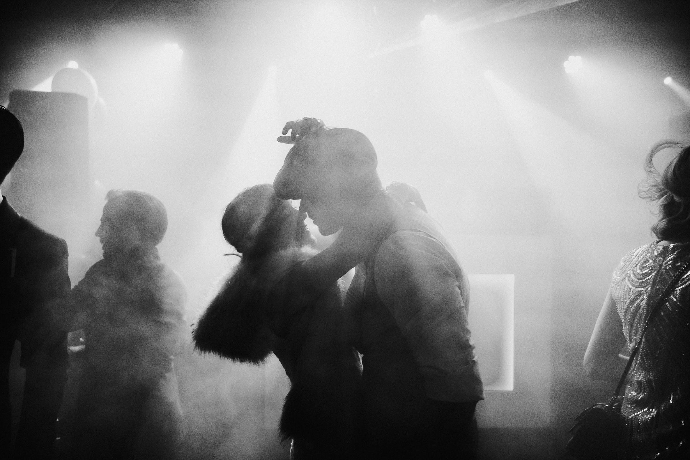 First dance in smoky room - photo by Naomi van der Kraan