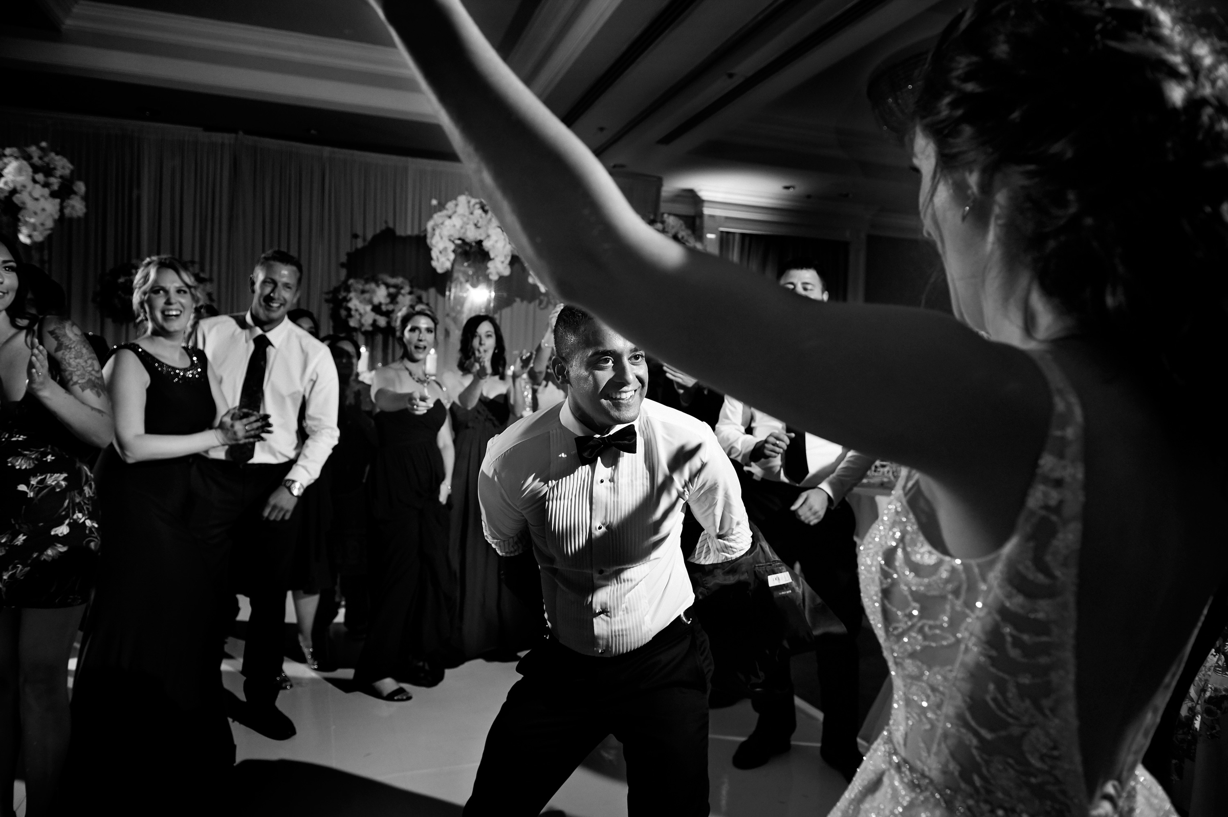 Dancing with the bride - photo by Jozef Povazan Photography